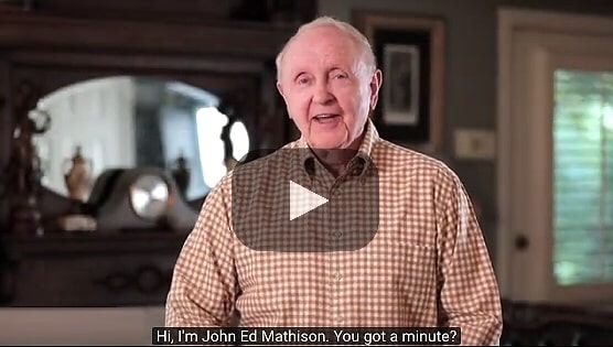 Thumbnail from John Ed Mathison's video series 'Got a Minute' on YouTube