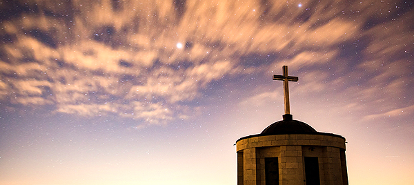 """Picture of church steeple from John Ed Mathison's blog about Paul's letters to the Corinthians """"How to Live in God's Presence and Power"""""""