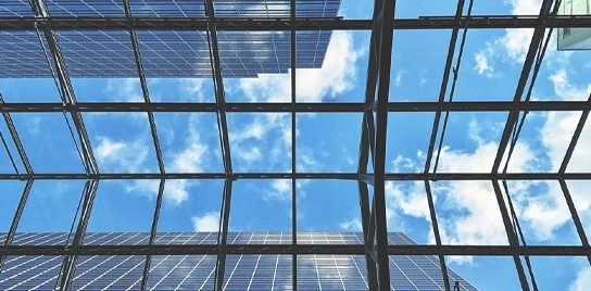 "Photo of a glass ceiling, from John Ed Mathison's Blog ""From Rejection to Resiliency"", illustrating the metaphor of Naomi Campbell breaking the glass ceiling"