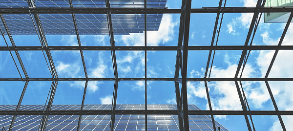 """Photo of a glass ceiling, from John Ed Mathison's Blog """"From Rejection to Resiliency"""", illustrating the metaphor of Naomi Campbell breaking the glass ceiling"""