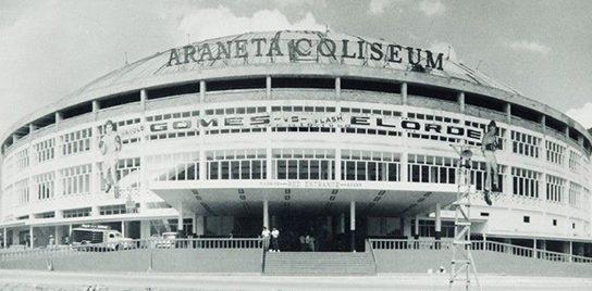 Araneta Coliseum in Manila.