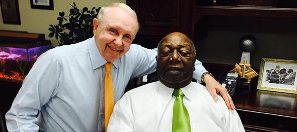 John Ed and Dr. G.W.C. Richardson.